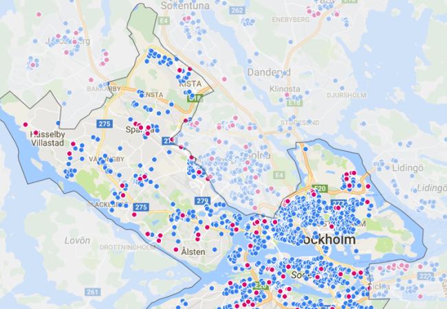 Bra fart på Stockholms bostadsrättsmarknad under årets första kvartal