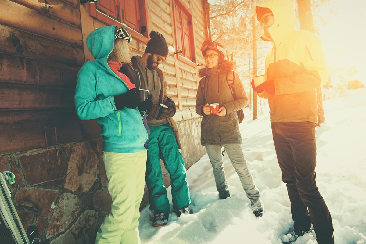 Laga mat och dela boende populärt på skidresan