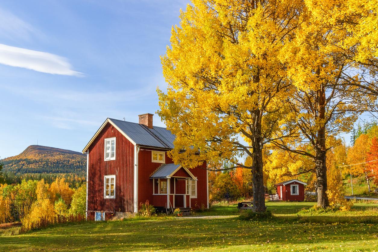Köpa fritidshus på hösten kan bli bra